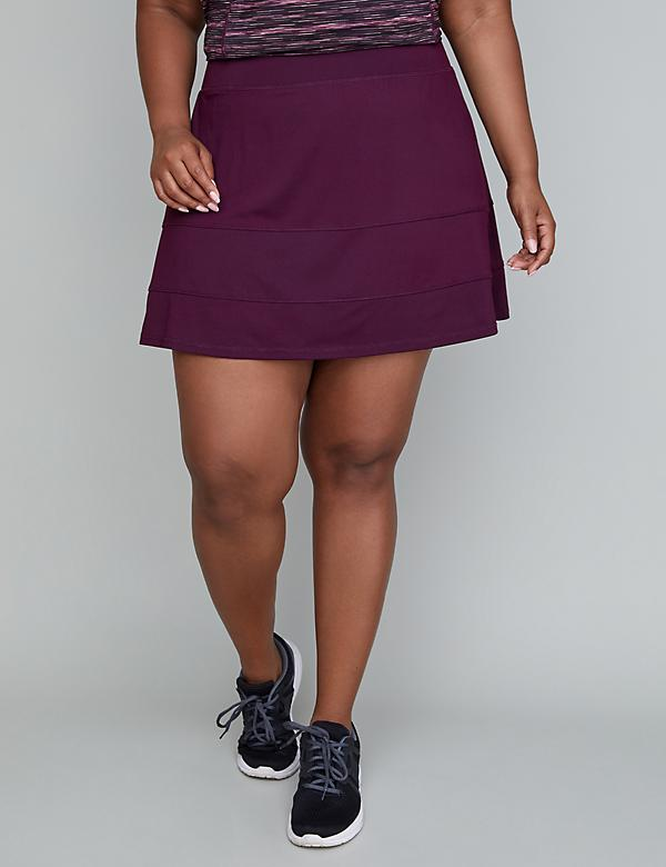 Wicking Tiered Active Skort
