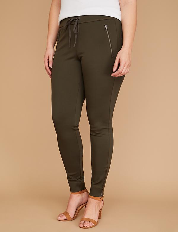 Ankle-Zip Scuba Legging