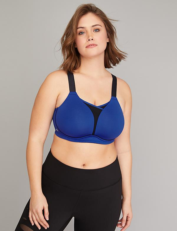 Medium Impact Cooling No-Wire Sport Bra