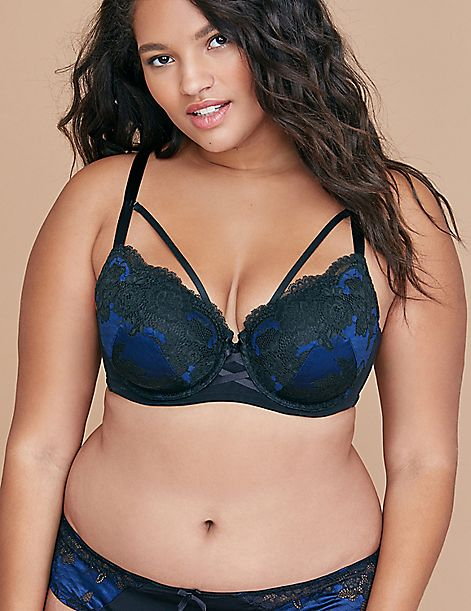 Boost Balconette Bra - Satin & Lace