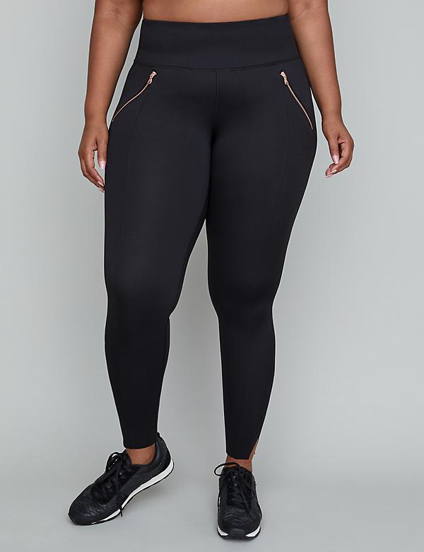 Sculpting Active 7/8 Legging - Zipper Pockets