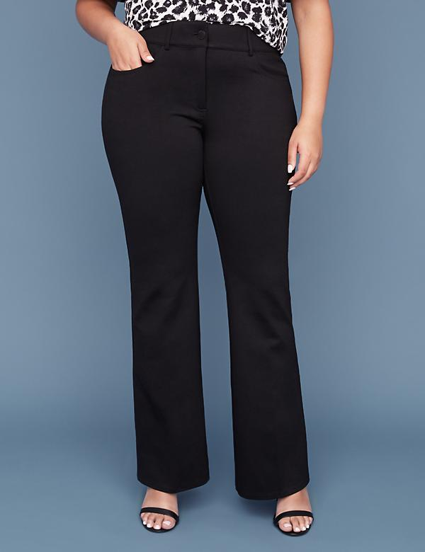 Ponte Boot Pant - 5 Pocket