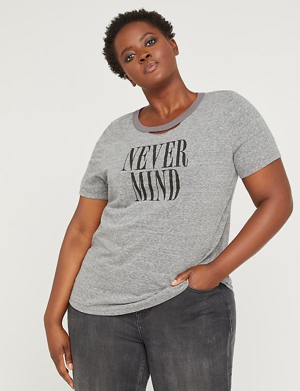 Fast Lane Never Mind Graphic Tee