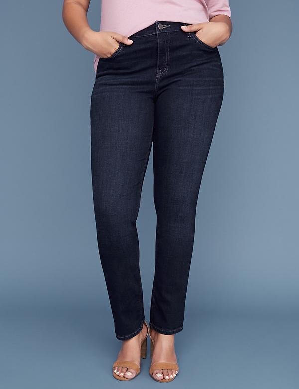 Essential Stretch Straight Jean - Dark Wash