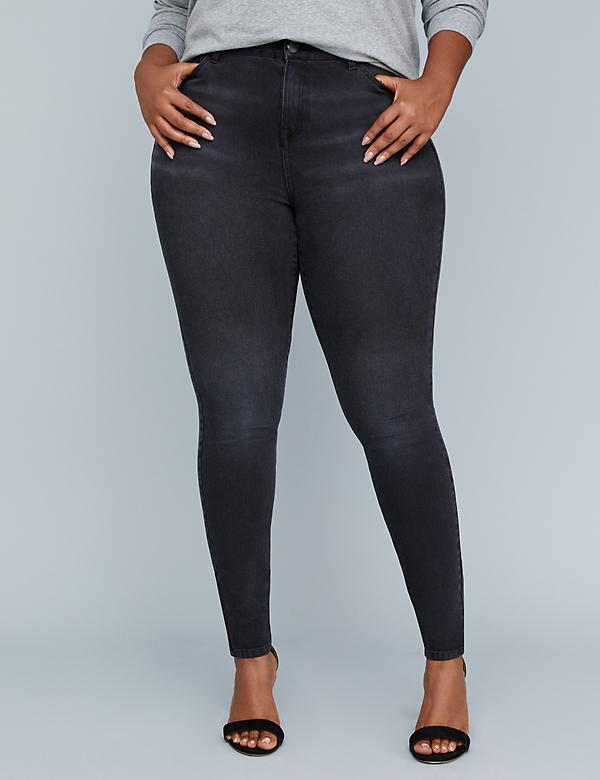 Girl With Curves Ultimate Stretch High-Rise Skinny Jean - Westwood Wash