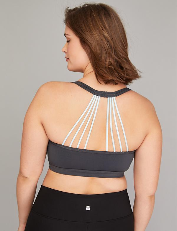 Low Impact Strappy-Back Sport Bra
