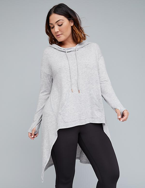 Spa High-Low Hoodie