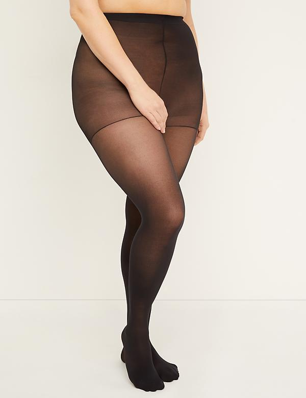 Level 1 High-Waist Smoothing Tights - Opaque
