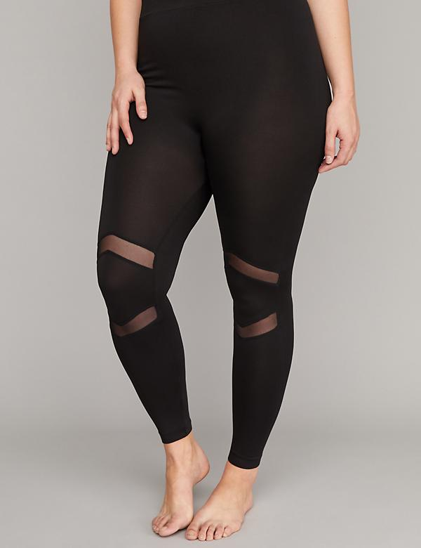 Seamless Leggings - Mesh Insets