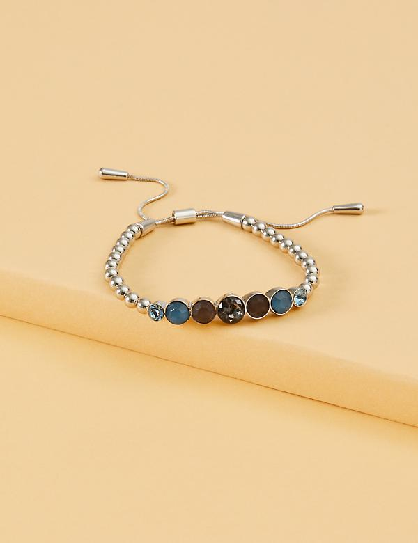 Stretch Stone Adjustable Slider Bracelet