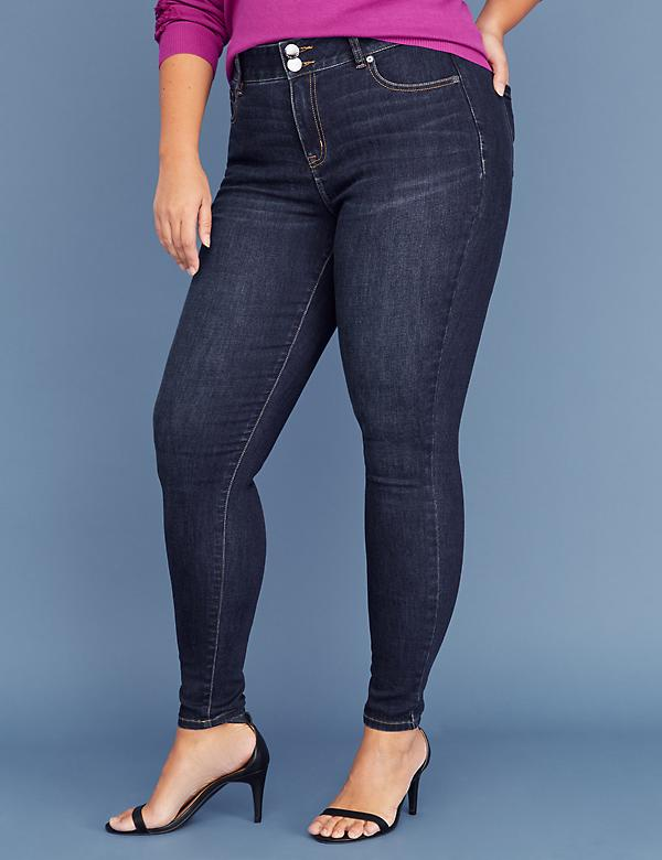 Tri-Sculpt Essential Stretch Skinny Jean - Dark Wash