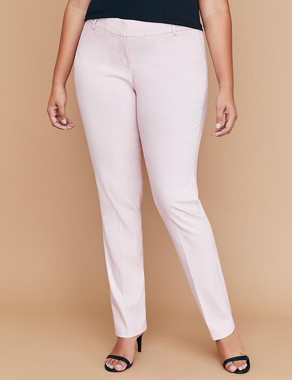 Allie Sexy Stretch Straight Leg Pant - Twill