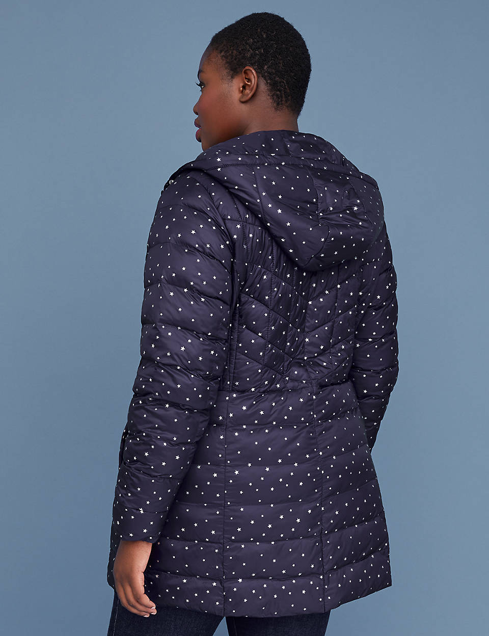 94e18e13aa0 Midi Packable Puffer Jacket with Thermoplume Technology - Night Sky.   189.95  93.98. BUY 1 GET 1 FOR 75% OFF CLEARANCE SELECT FINAL SALE. 1