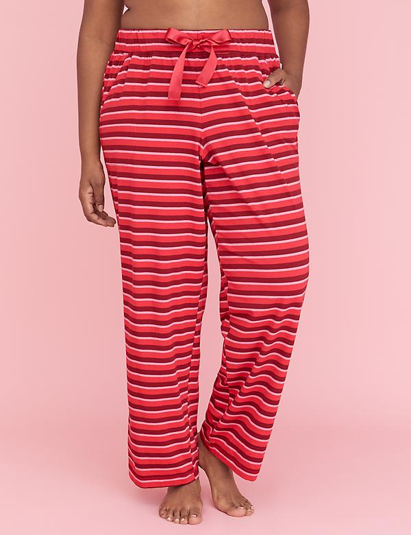 sleep pant with satin tie