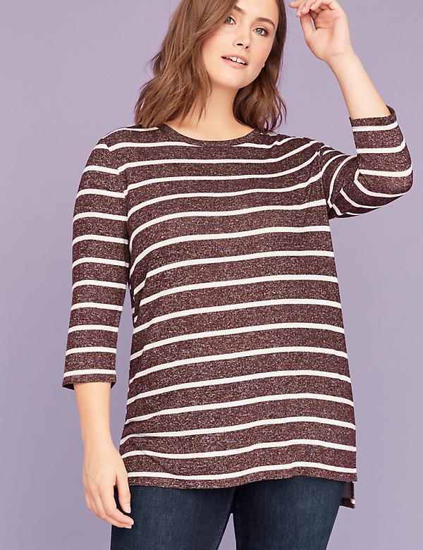 High-Low Hacci Tunic