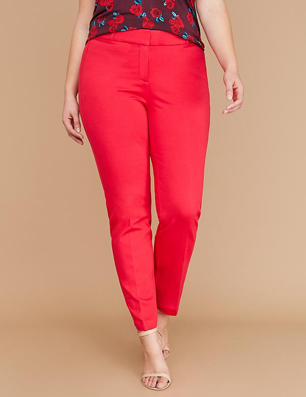 Power Pockets Allie Ponte Ankle Pant