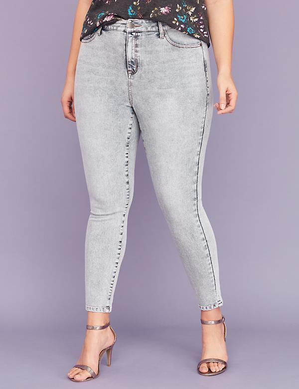 Ultimate Stretch High-Rise Skinny Jean - Acid Wash
