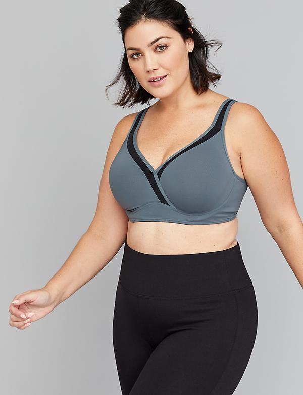 Medium-Impact Cooling Sport Bra - Underwire
