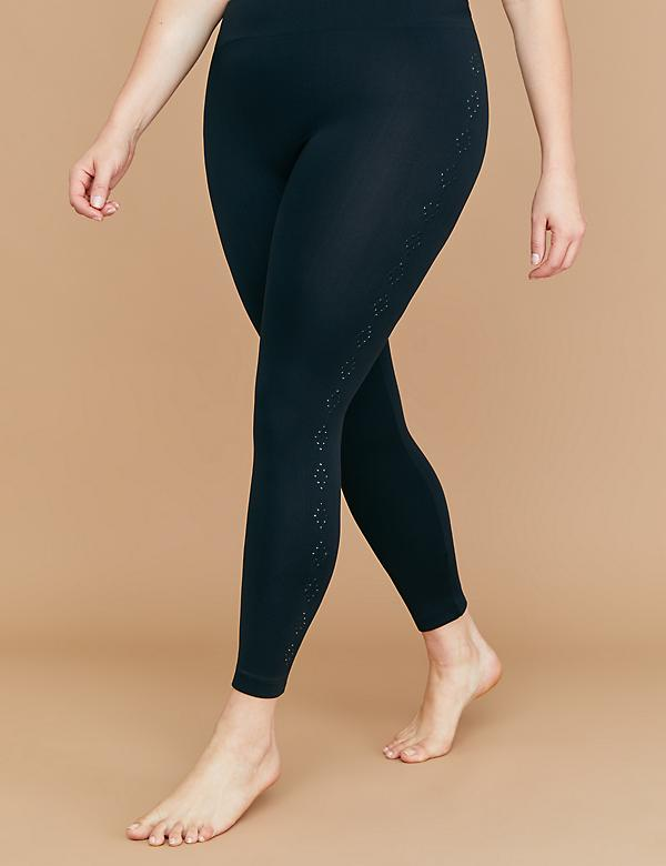 Embellished Side Legging