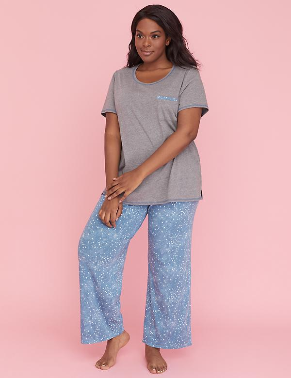Pocket Tee & Pant PJ set