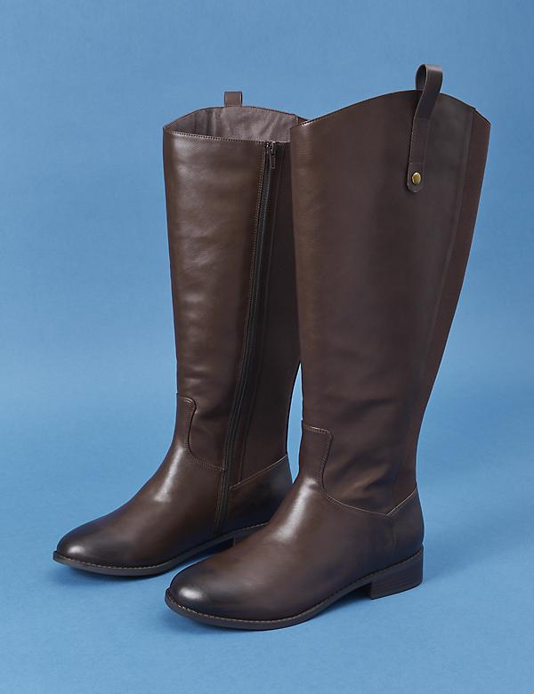 Classic Riding Boot with Side Goring