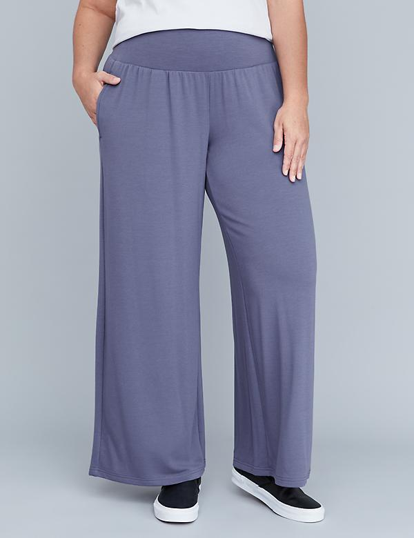Spa Wide-Leg Pants