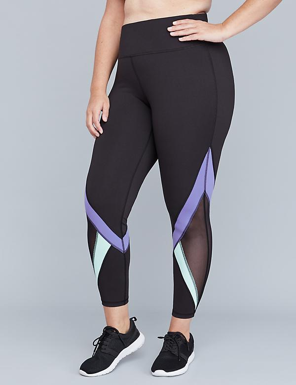 Wicking Active 7/8 Legging - Spliced