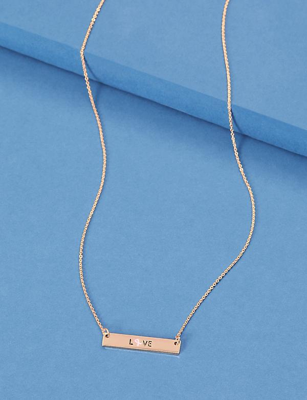 Awareness Bar Necklace