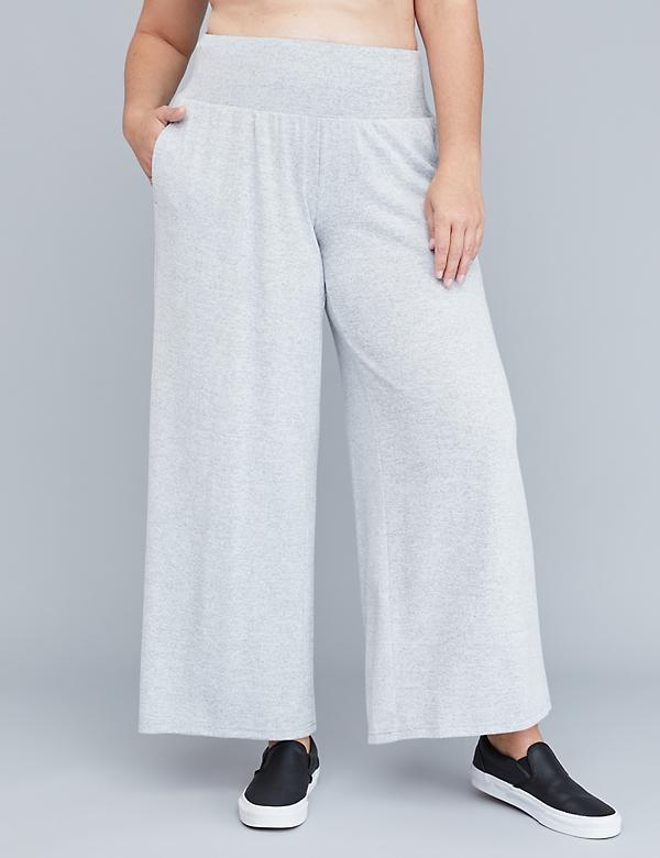 Hacci Active Wide Leg Pant