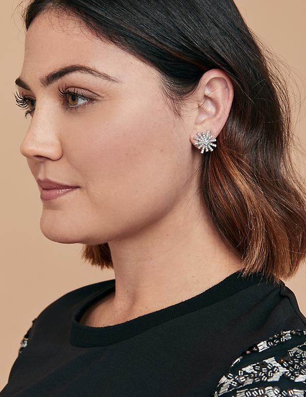Pave Earrings 3-Pack with Gift Box