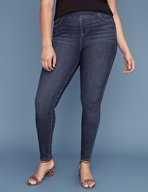 Ultimate Stretch High Rise Jegging - Dark Wash