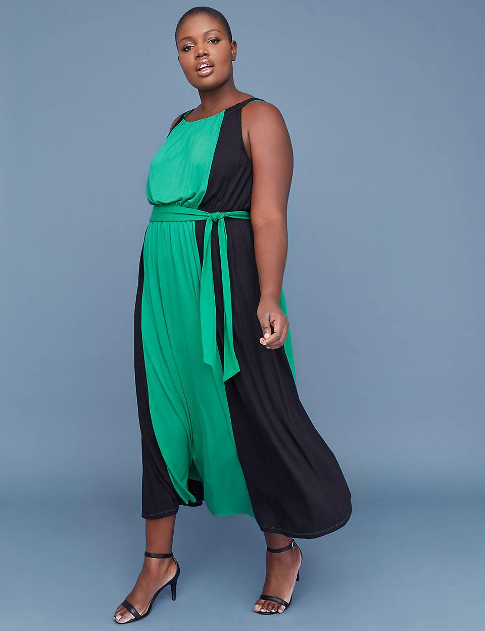 b7ce7f13df Colorblock Maxi Dress