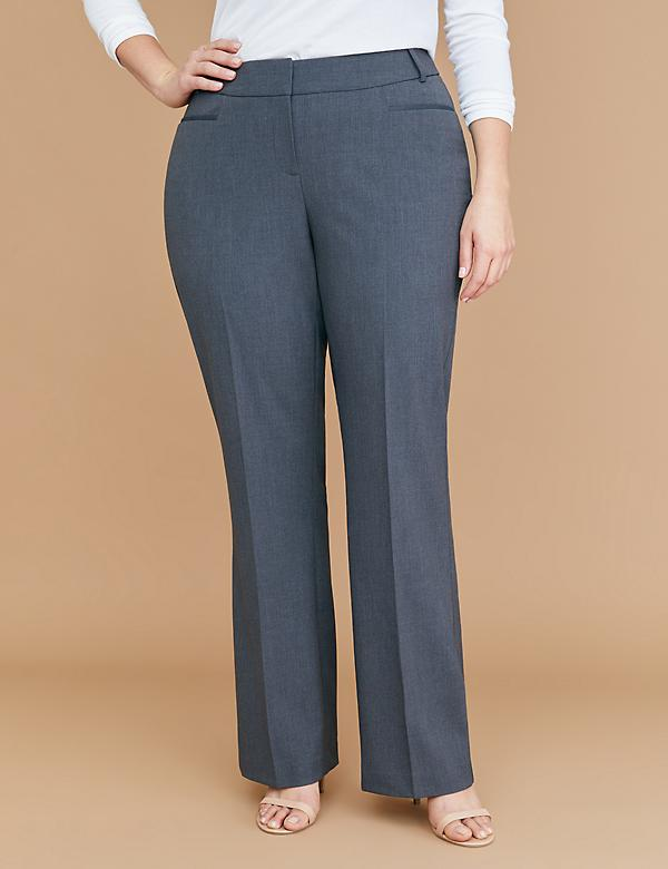 Curvy Allie Tailored Stretch Trouser Pant