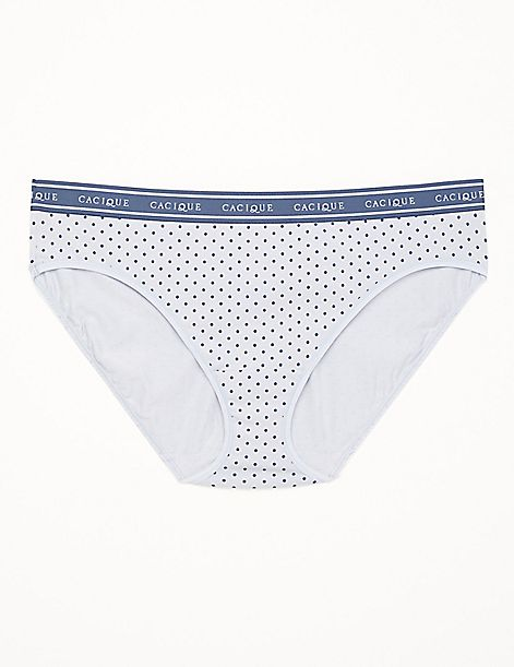 Cotton Hipster Panty with Wide Waistband