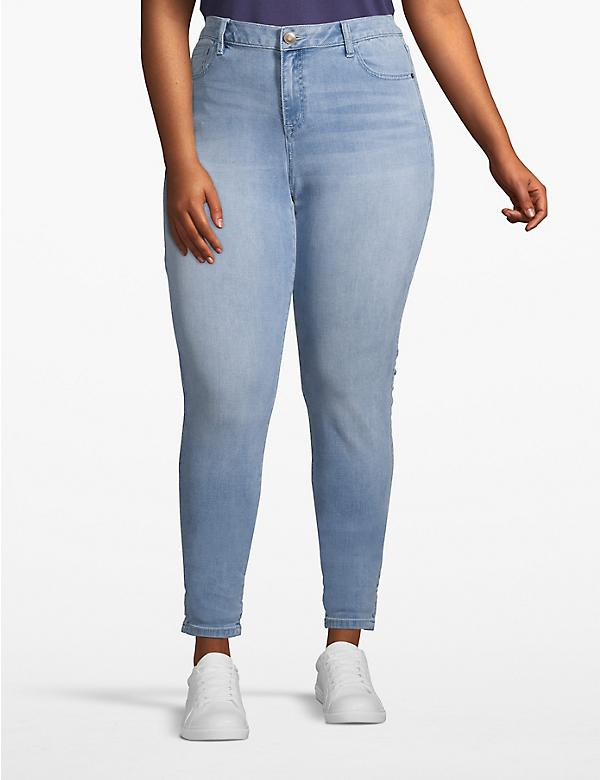 Venezia Smoothing Stretch Skinny Jean - Light Wash