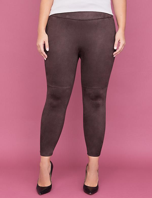 00f7f8604 Faux Suede Legging - Brown