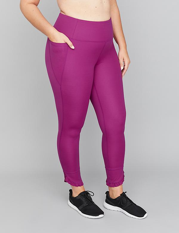 SculptLight Active 7/8 Legging - Ruffle Hem