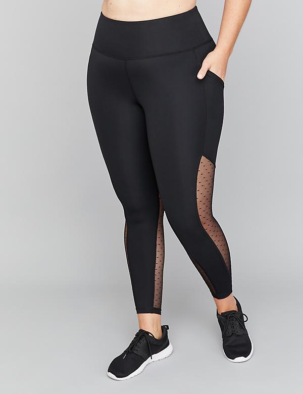 SculptLight Active 7/8 Legging - Dot Mesh