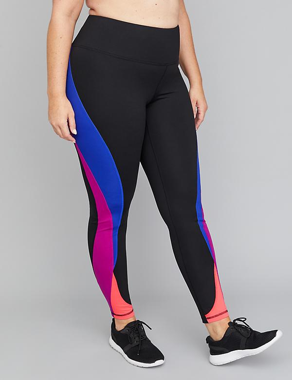 SculptLight Active 7/8 Legging - Colorblock Splicing