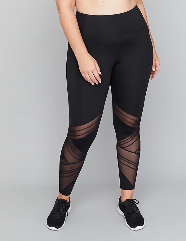 SculptLight Active 7/8 Legging - Mixed Mesh