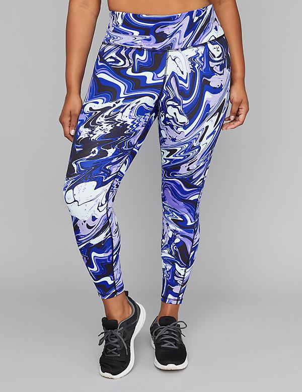 Wicking Active 7/8 Legging - Printed