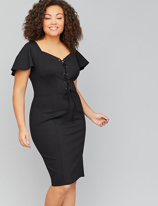 42a8a64b03fb Black Plus Size Dresses | Lane Bryant