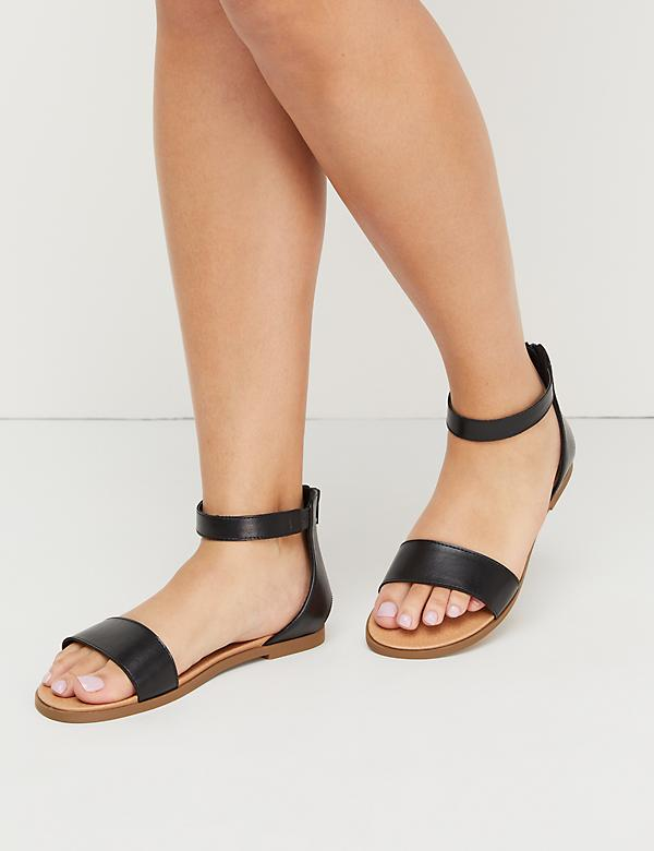 Women S Wide Width Sandals Amp Wedges Lane Bryant