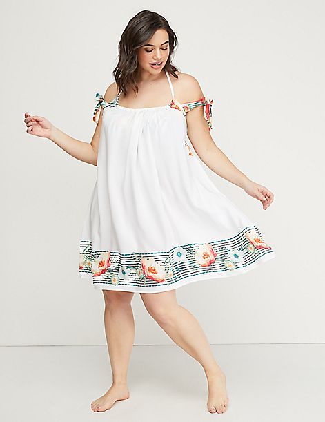 Halter-Neck Cover-Up Dress