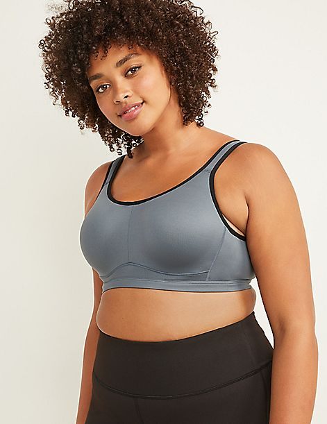 High-Impact Wicking Molded Underwire Sport Bra