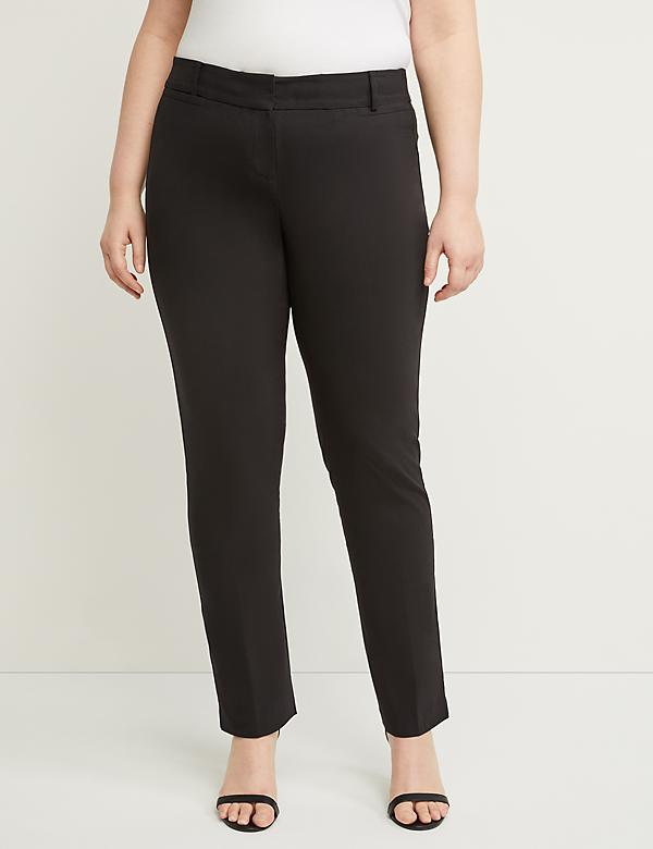 4ae56efef5f Plus Size Pants. Allie Sexy Stretch Straight Leg Pant