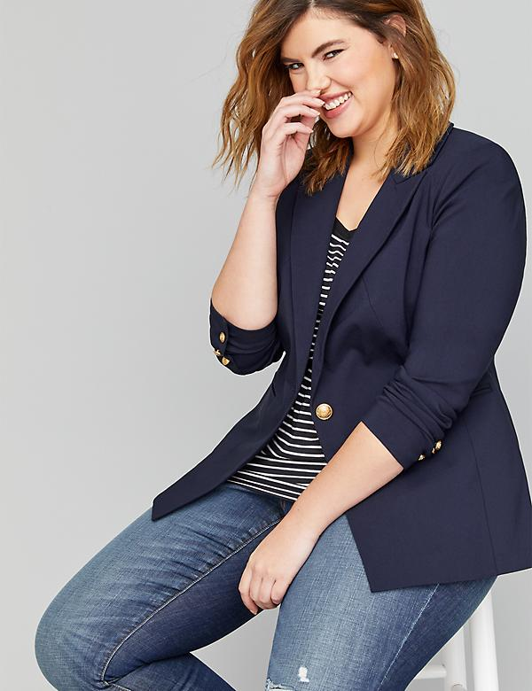 89f15bbabe9 Plus Size Petite Tops & Shirts For Women | Lane Bryant