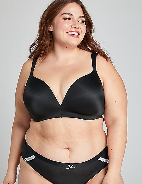 Simply Wire Free Uplift Plunge Bra