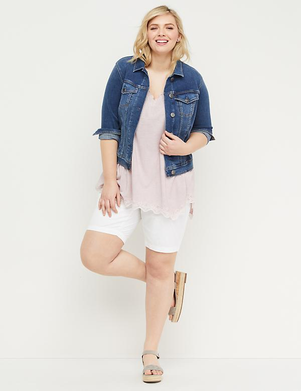 aa80a427a4 Plus Size Capris And Shorts