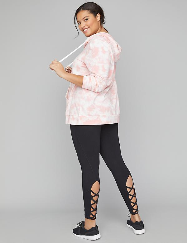 Signature Stretch Active 7/8 Legging - Lace-Up Hem